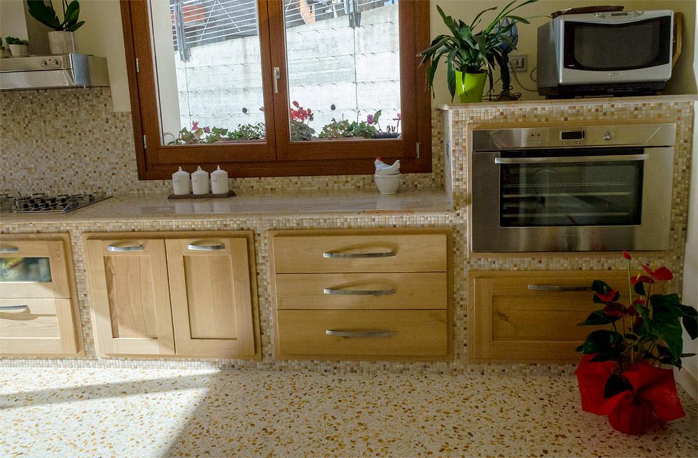 Cucina Rustica, Pavimento in Graniglia, Gavoi | PAVARTE ...